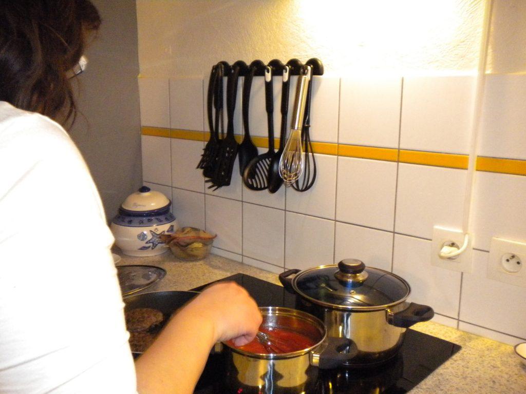 Préparation de repas